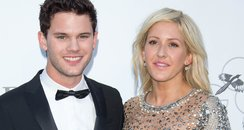 Ellie Goulding and Jeremy Irvine on the red carpet