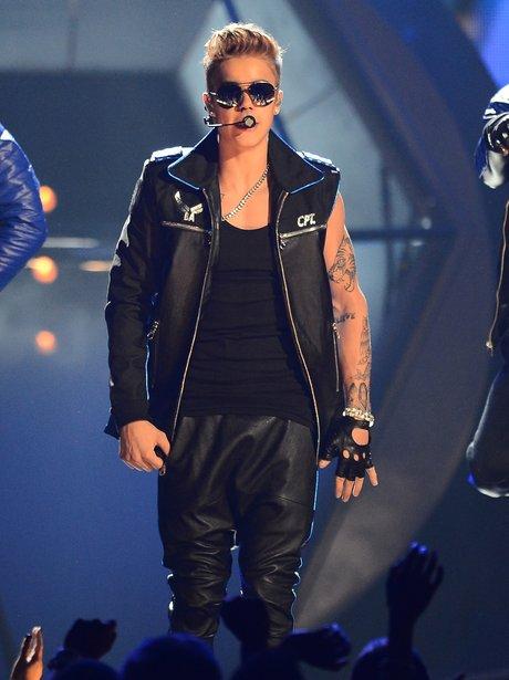 Justin Bieber at the Billboard Music Awards 2013