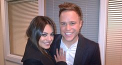 Olly Murs And Mila Kunis