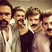 Image 10: Lawson pose with fake moustaches on Instagram