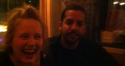 Adele and David Blaine