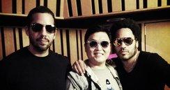 PSY, Lenny Kravitz and David Blaine
