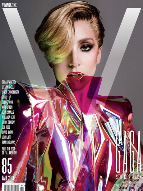 Lady Gaga V Magazine 2013 Armani