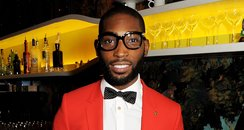 Tinie Tempah Red Suit