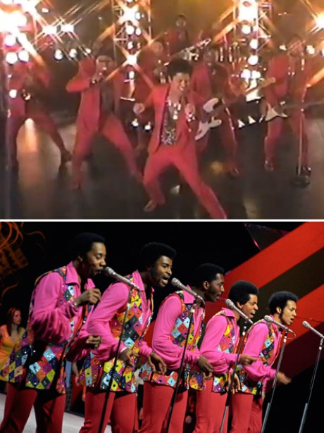 Bruno Mars and The Temptations