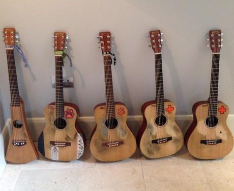 Ed Sheeran guitars