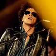 Bruno Mars performs live on stage during the MTV E
