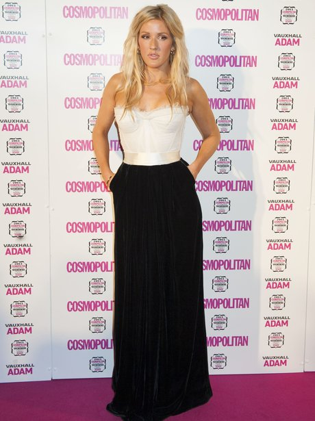 Ellie Goulding Cosmpolitan Awards 2013