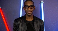 Tinie Tempah backstage Jingle Bell Ball 2013