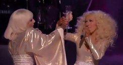 Lady Gaga Christina Aguilera The Voice