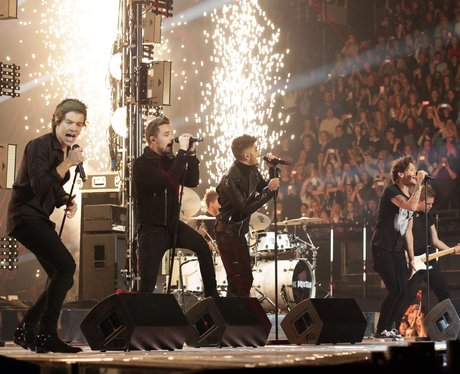 One Direction perform on The X Factor UK
