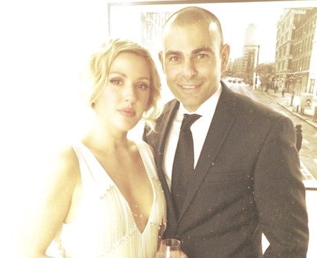 Ellie Goulding Fake Wedding Dress