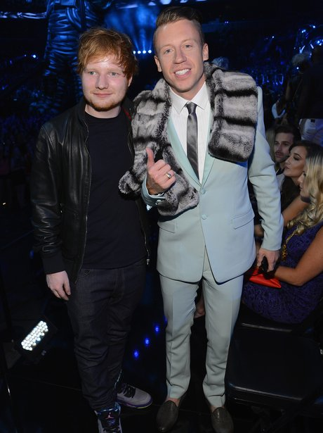 Macklemore and Ed Sheeran