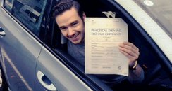 Liam Payne Driving Test