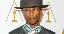 Pharrell at Oscars luncheon event