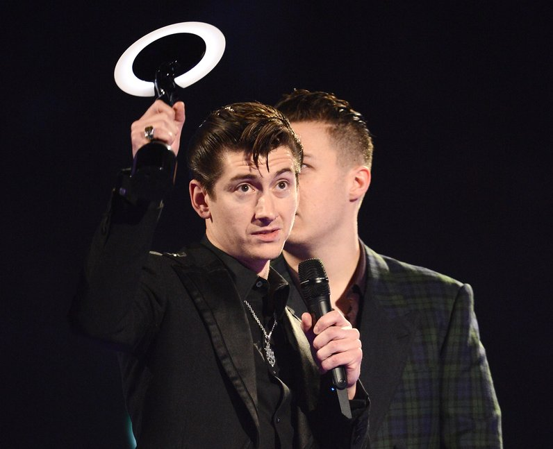 Arctic Monkeys winners at the Brit Awards 2014