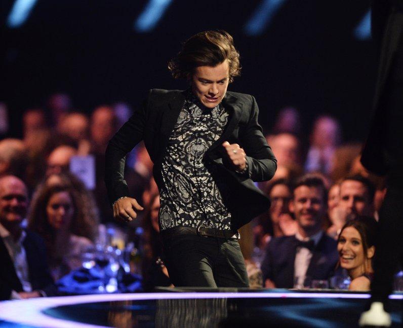 Harry Styles BRIT Awards 2014 Winners
