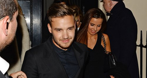 Liam Payne and Girlfriend BRIT 2014 Awards Afterpa