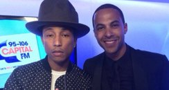 marvin with pharrell
