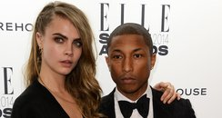 Pharrell and cara delevingne