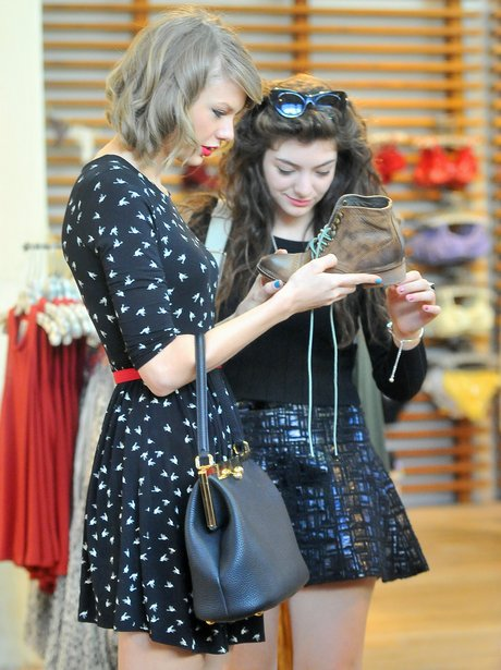 Taylor Swift and Lorde shopping in Brentwood