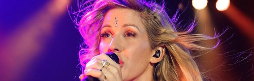 Ellie Goulding performs on stage