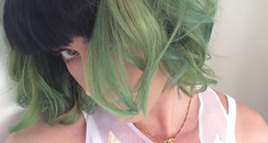 Katy Perry news green hair