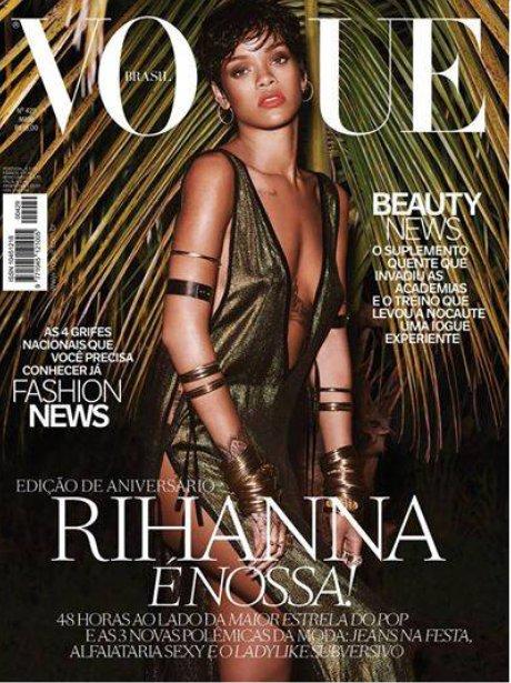 Rihanna VOGUE Brazil 2014