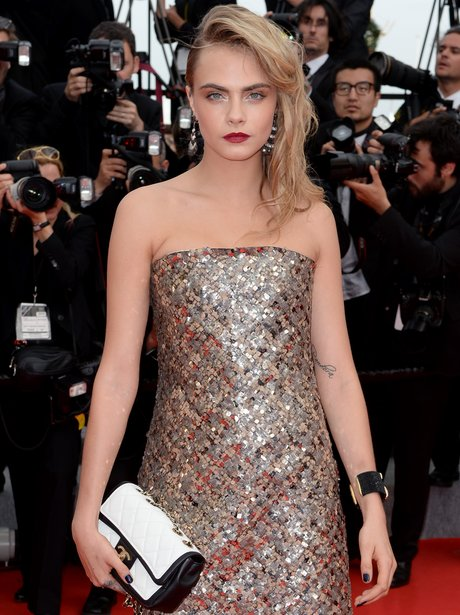 Cara Delevingne in Cannes 2014