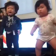 Dancing korean babies