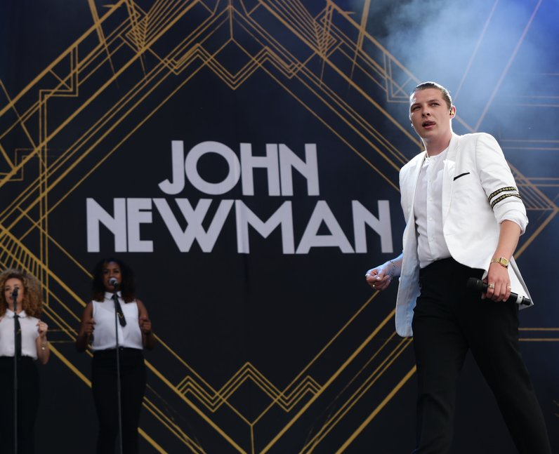 John Newman Isle Of Wight Festival