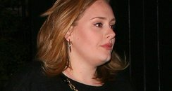 Adele on a night out in London