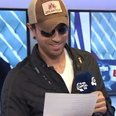 Enrique Iglesias Backstage Summertime Ball 2014