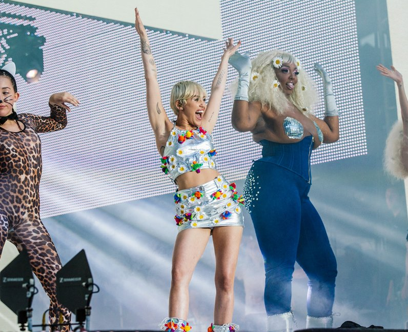 Miley Cyrus at the Summertime Ball 2014
