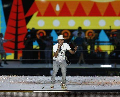 Pharrell Summertime Ball 2014 Performance