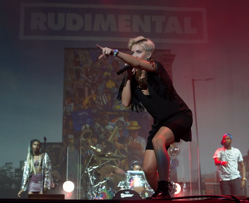 Rudimental at Wireless Festival 2014