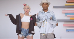 Miley Cyrus Pharrell Williams Come Get It Bae vide
