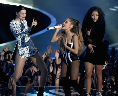 Jessie J, Ariana Grande And Nicki Minaj MTV VMA 20