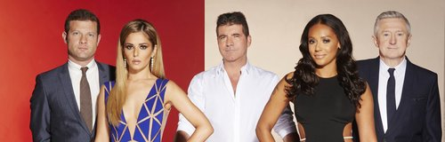 X Factor Press Shot 2014
