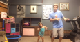 Dad daughter shake it off dance