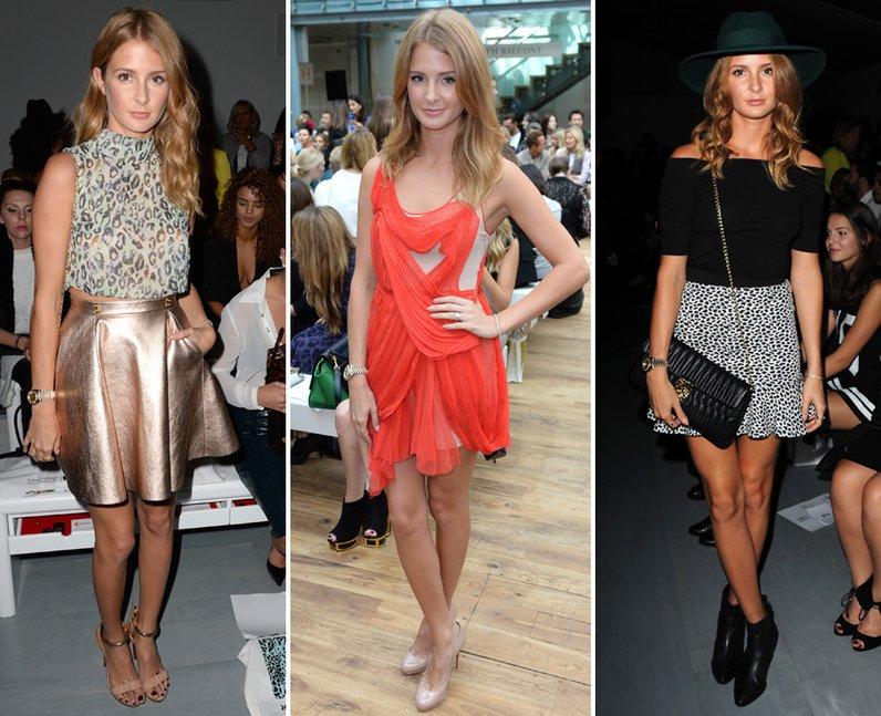 Millie Mackintosh Fashion Week 2014