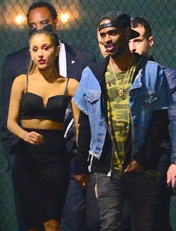 Ariana Grande and Big Sean Holding Hands
