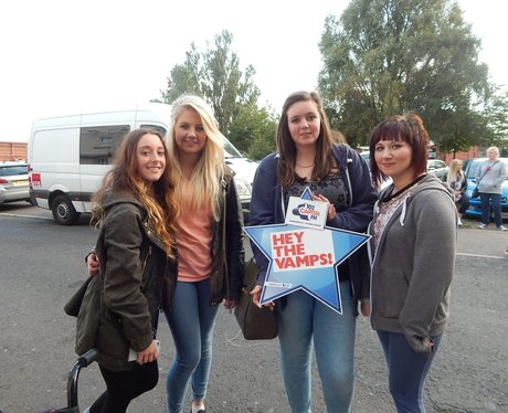 Capital FM at The Vamps
