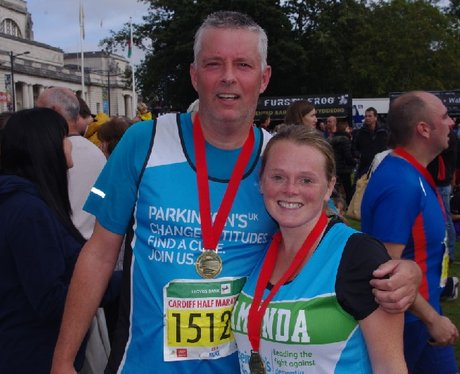Cardiff Half Marathon - Finish (Part 1)