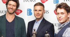 Take That Ivor Novello Awards 2014