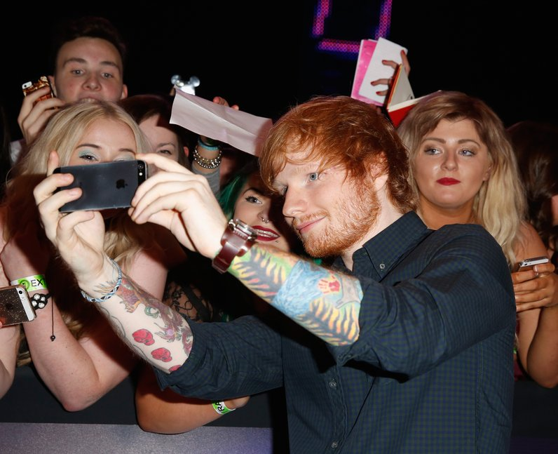 Ed Sheeran MTV VMAs 2014