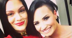 Jessie J and Demi Lovato