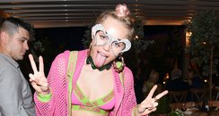 Miley Cyrus Moschino Party