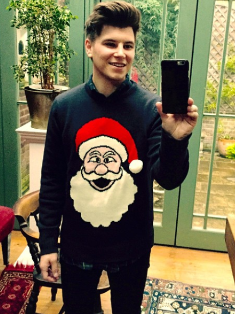 But first, let Rixton's Charley Bagnall take a Santa ...