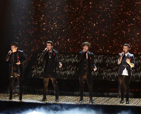 Union J X Factor 2014